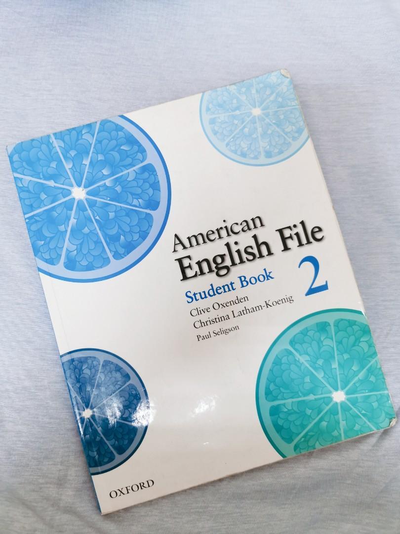 英文課本 American English File Student Book 2 OXFORD