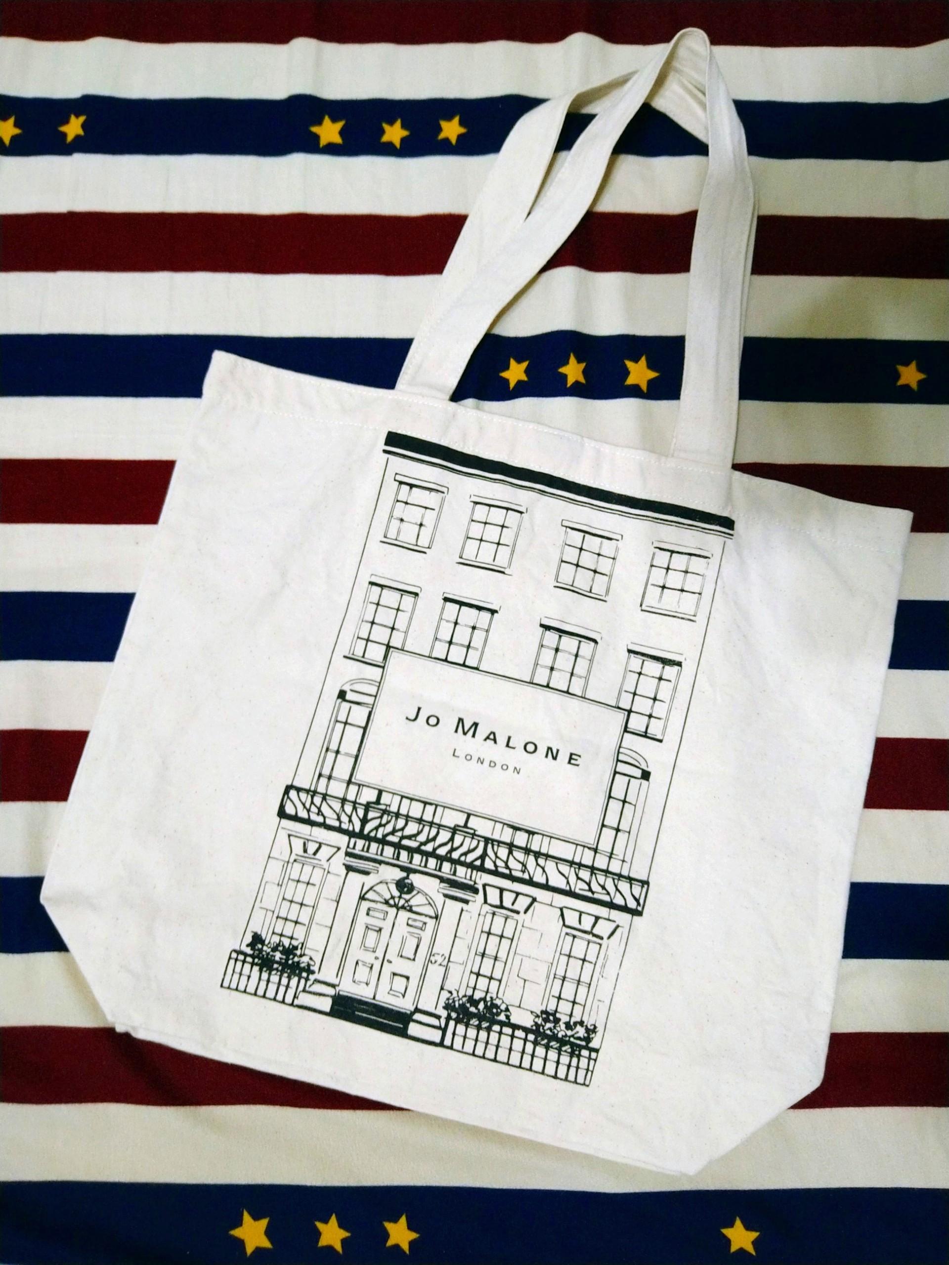 [購物免費送] Jo Malone質感帆布提袋 肩背包