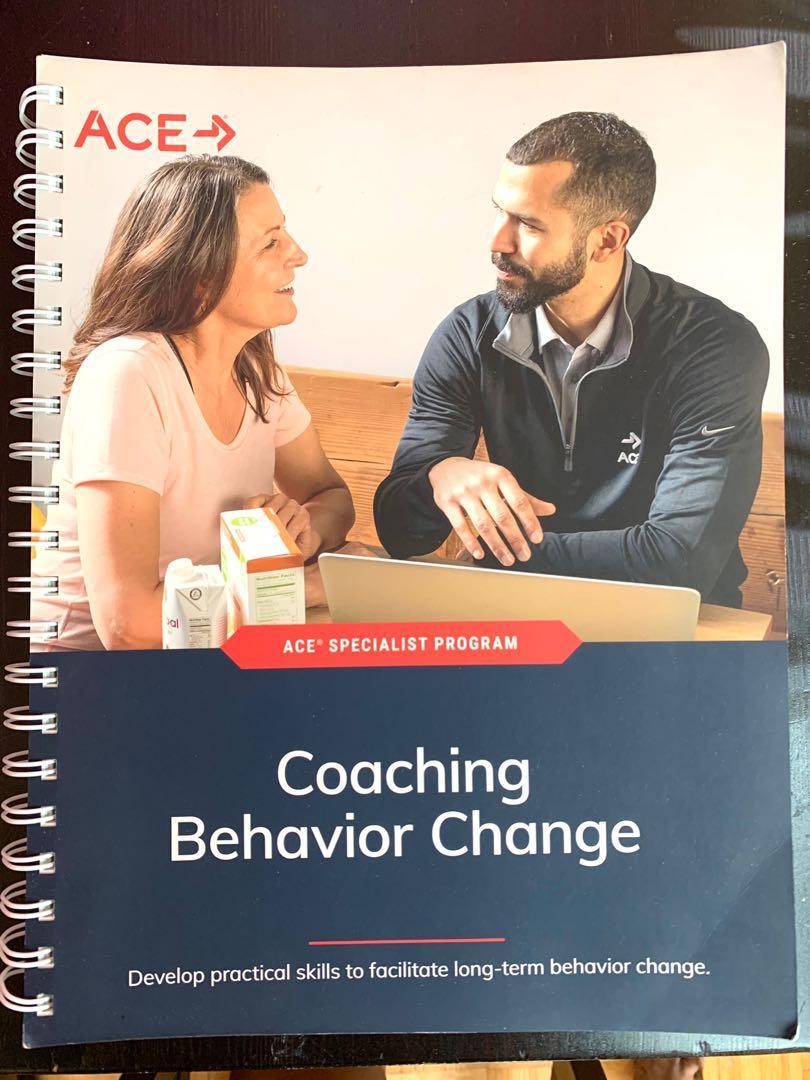 Ace Fitness Coaching Behavior Change Textbook
