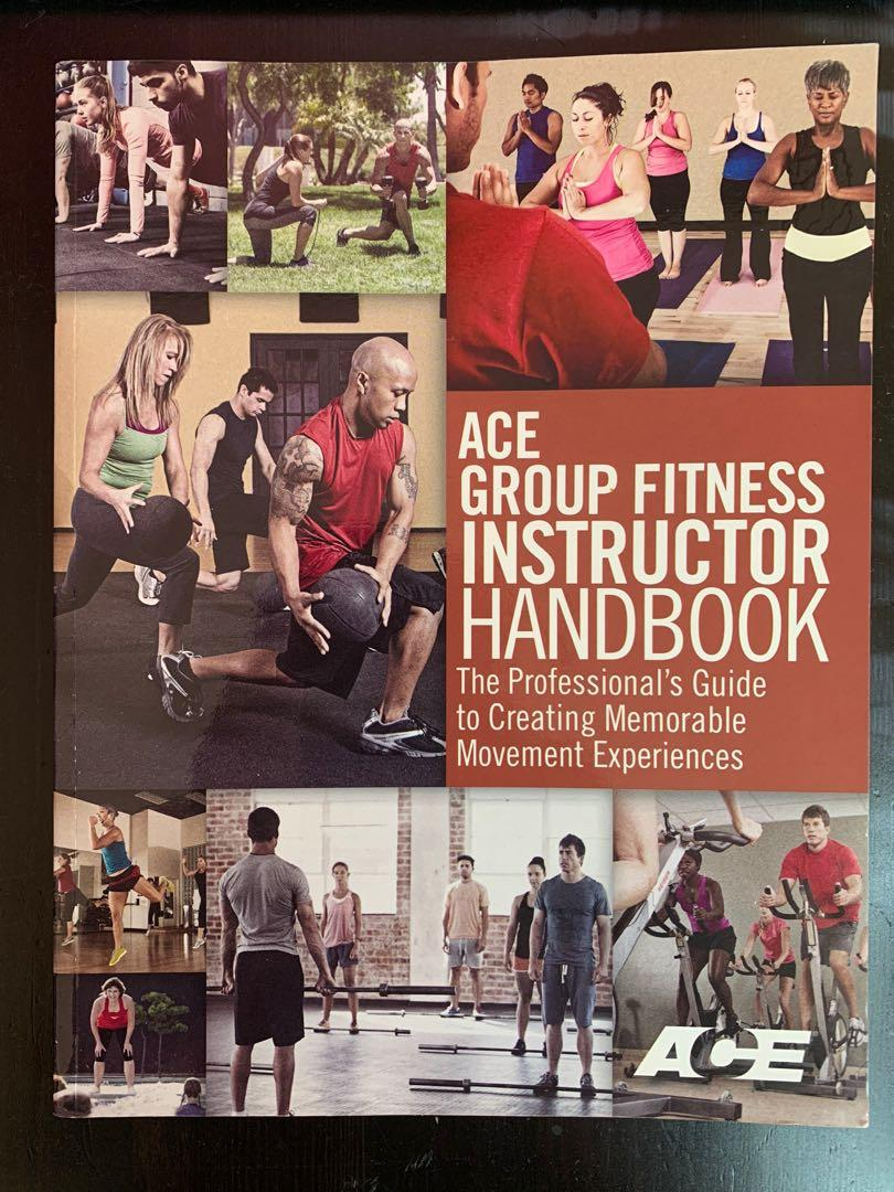 Ace Fitness Group Fitness Instructor Textbook
