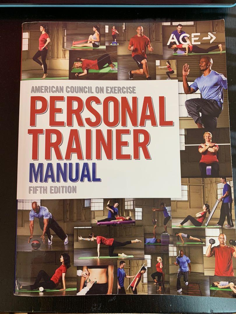 Ace Fitness Personal Trainer Textbook, Study Guides