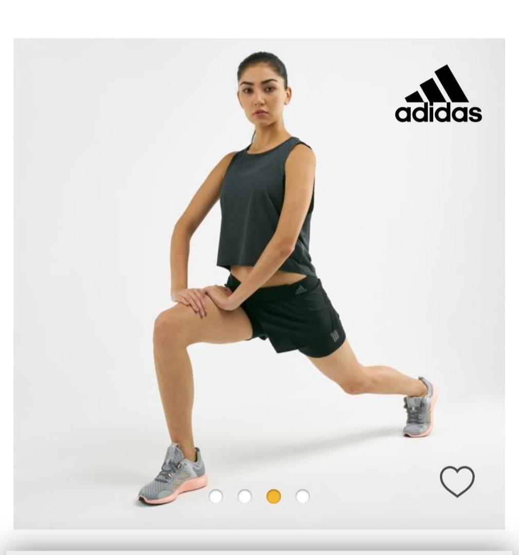 ADIDAS WOMEN'S DECODE RUNNING ADAPT TO CHAOS Shorts, Size M
