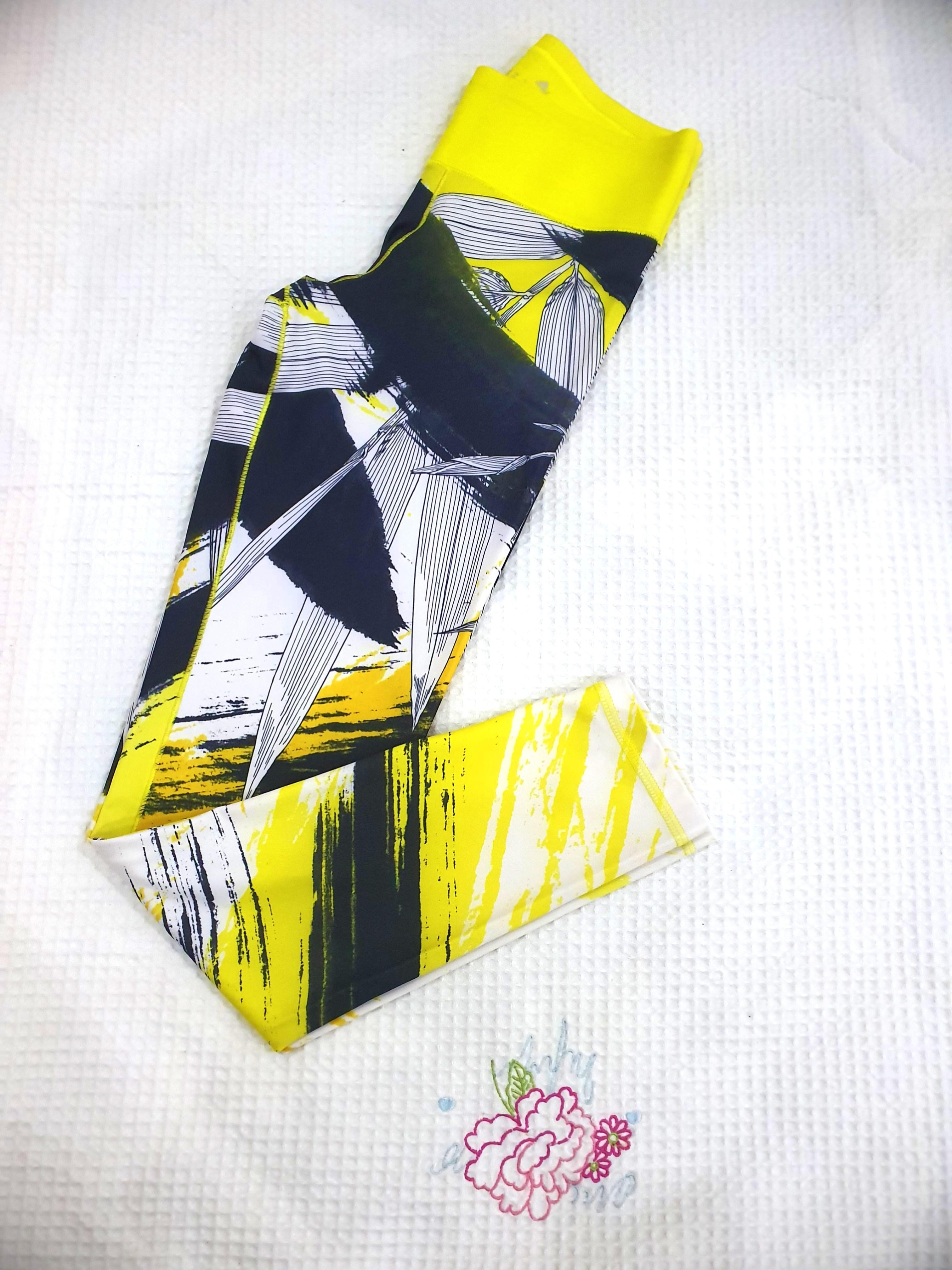 Adidas®️ Climalite Stylish Yellow Sports Pants XS