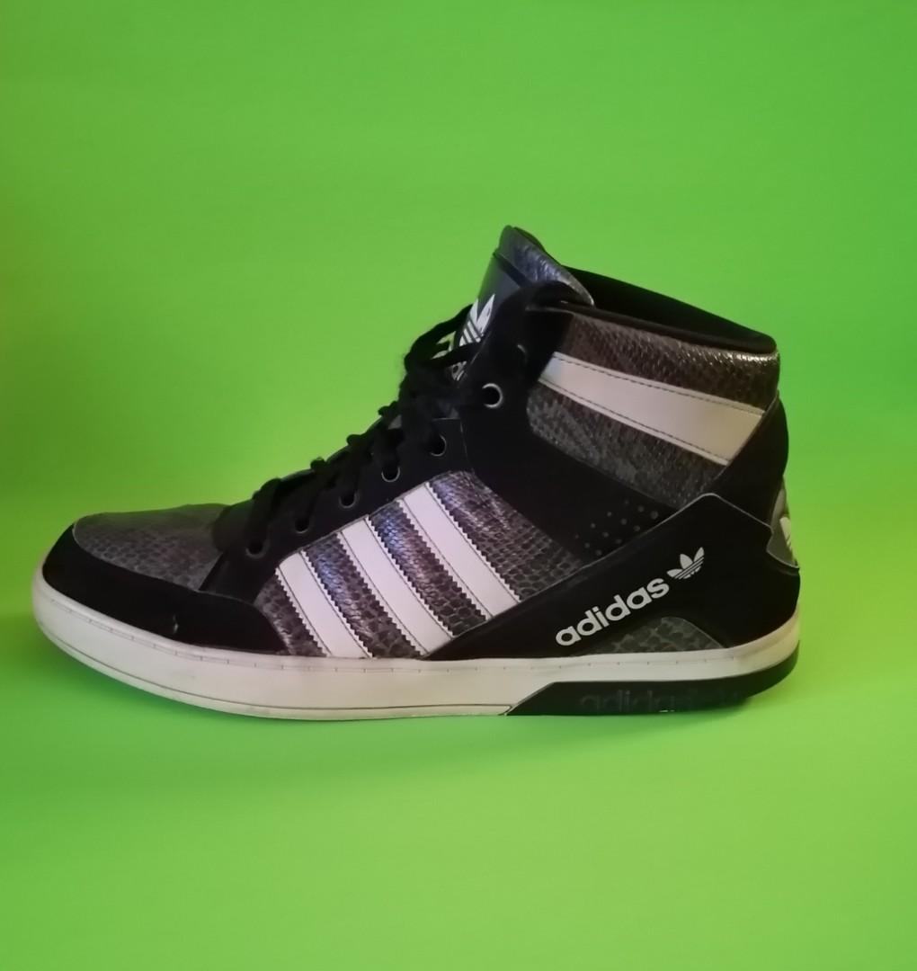 Adidas Men's Snakeskin High Top Shoes
