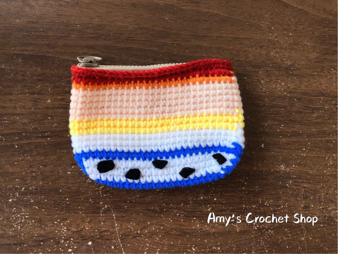 ☆Amy's 毛線編織 卡通造型零錢包👛 翠絲