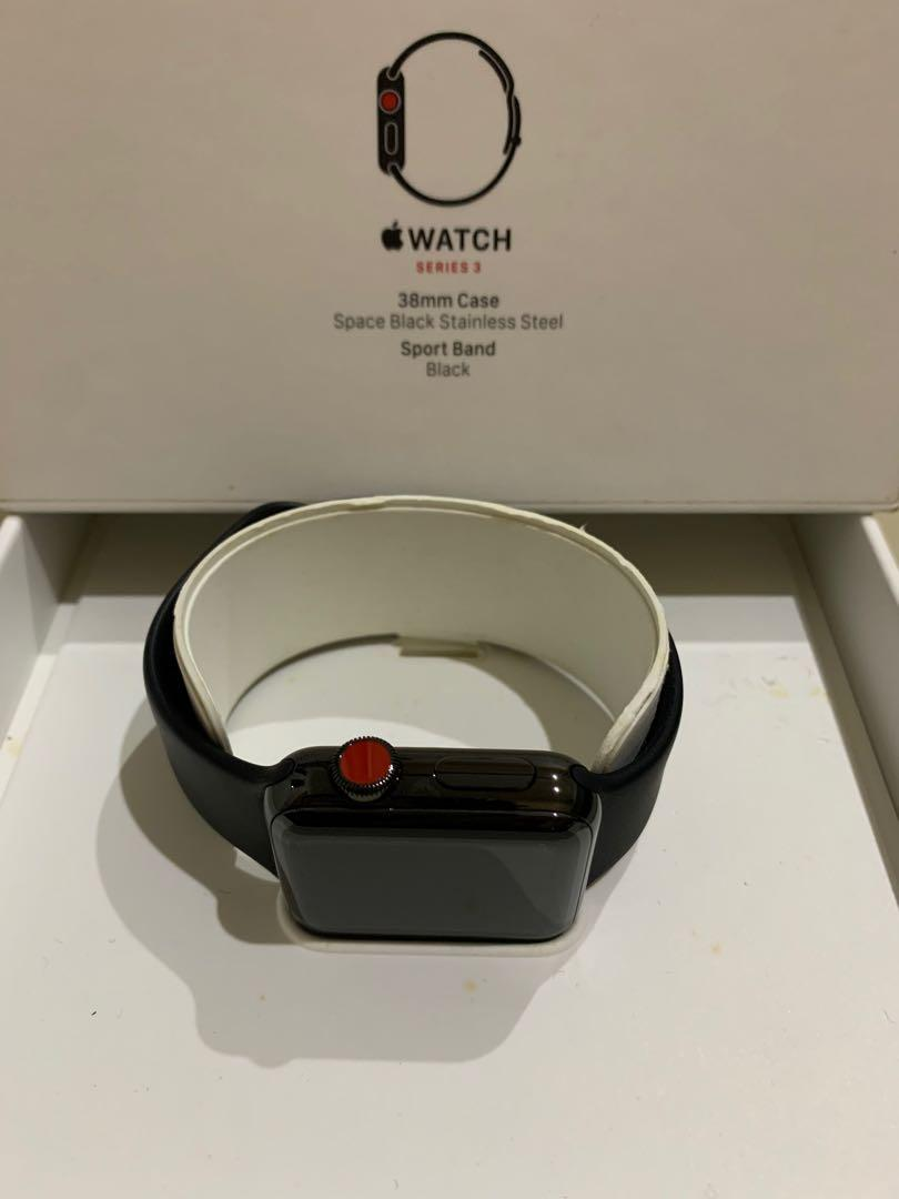 iwatch 3 38mm Stainless steel