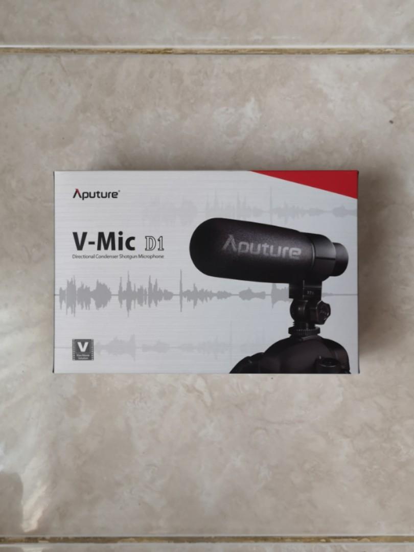 Aputure V-Mic D1 100% ORIGINAL (USED, 9.5/10)