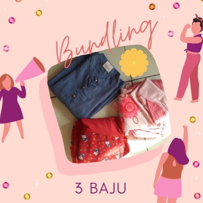 Baju Anak 3 pcs 75.000 + Ongkir #oktoberovo