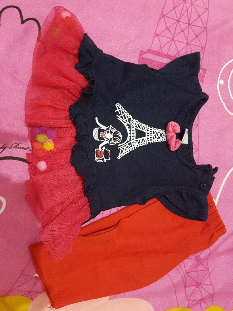 Baju Anak celana pompom