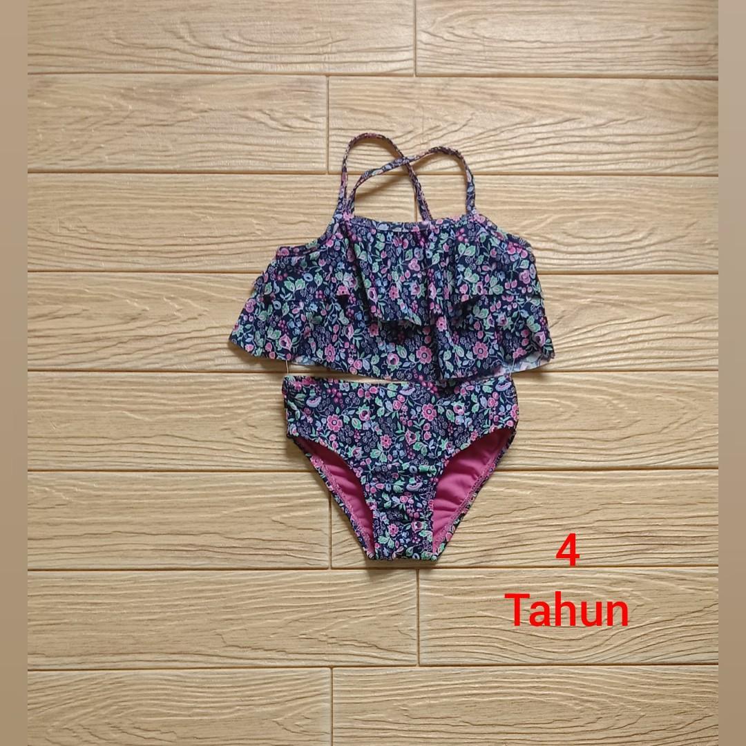 Baju Renang / bikini anak 2 pieces 4 tahun