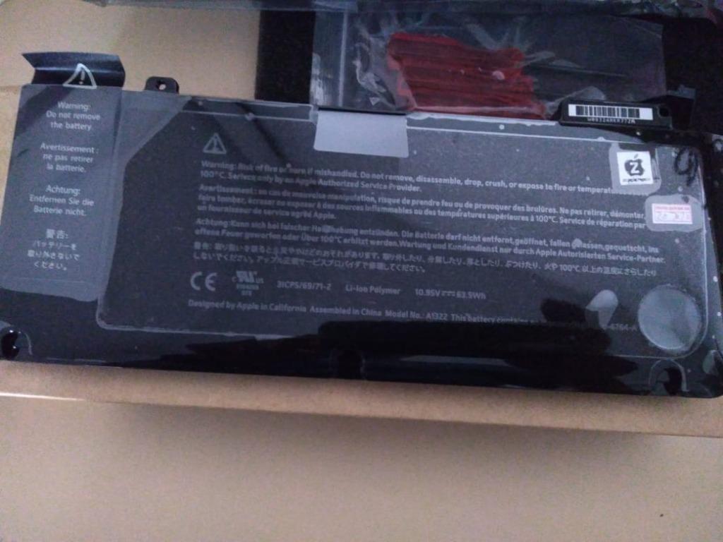 Baterai macbook A1322