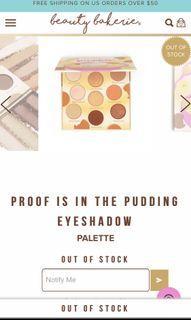Beauty bakerie palette