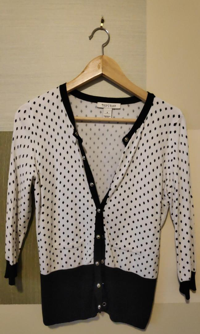 Black & White Cardigan size S