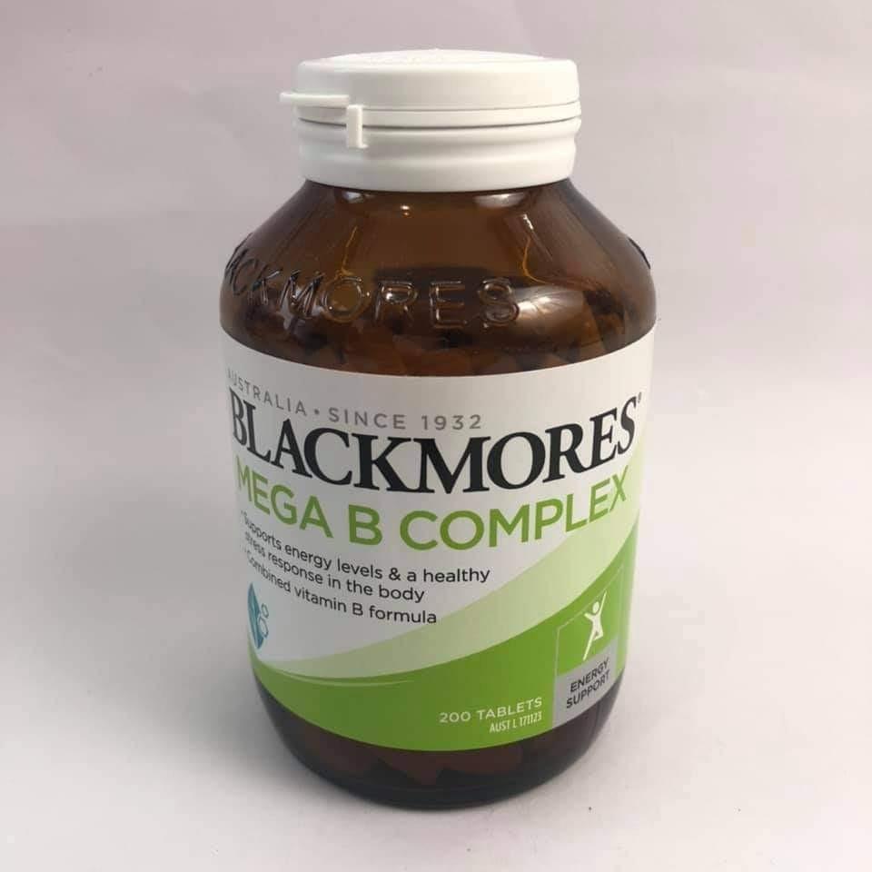 Blackmores Mega B Complex 200 tablets