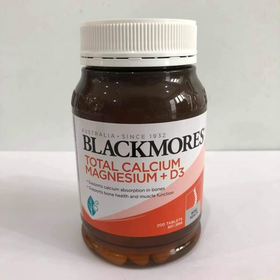 Blackmores Total Calsium Magnesium D3