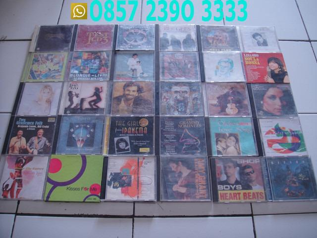 Borongan Cd Musik Lagu Kaset Bundar TLX0001