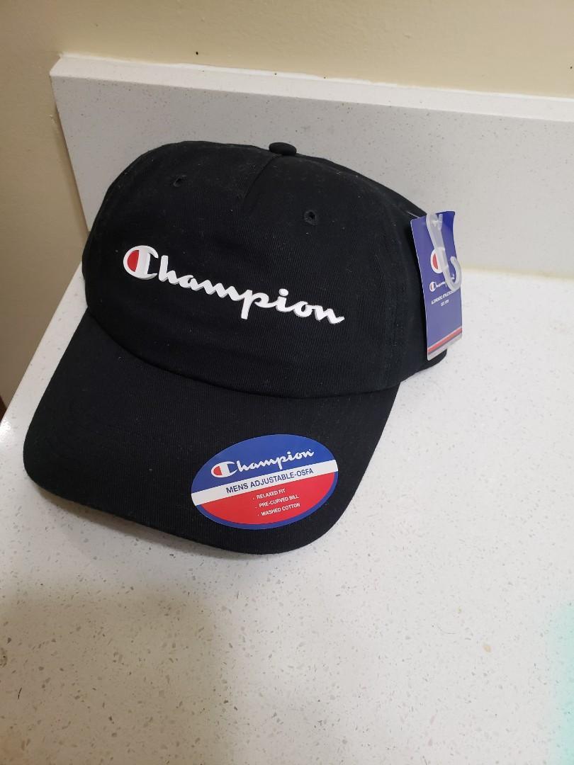 BRAND NEW CHAMPION STRAPBACK HAT ONLY $20!