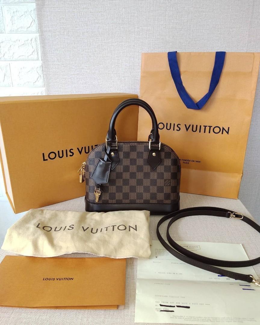 BRANDNEW Authentjc Louis Vuitton Alma BB
