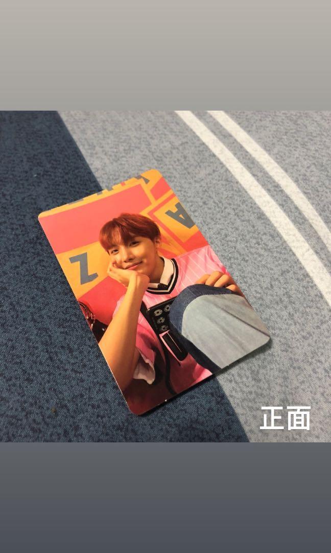 BTS 鄭號錫小卡