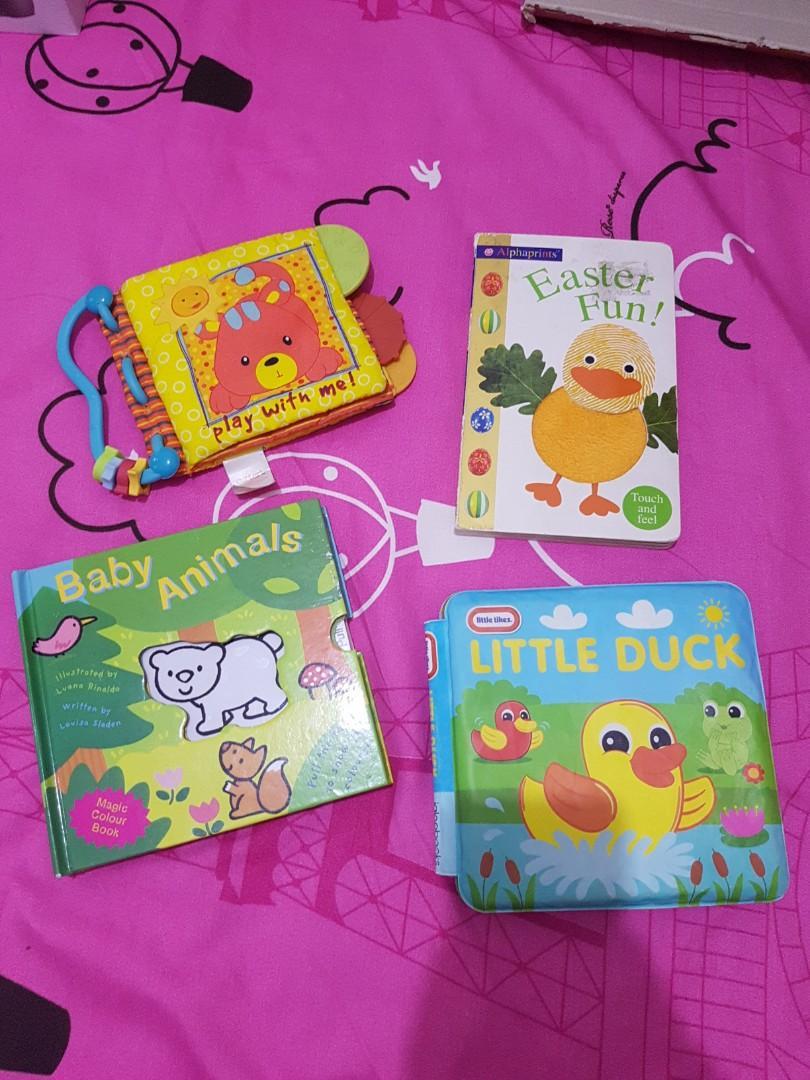 Buku Bantal buku cerita anak buku touch n feel magic colour book