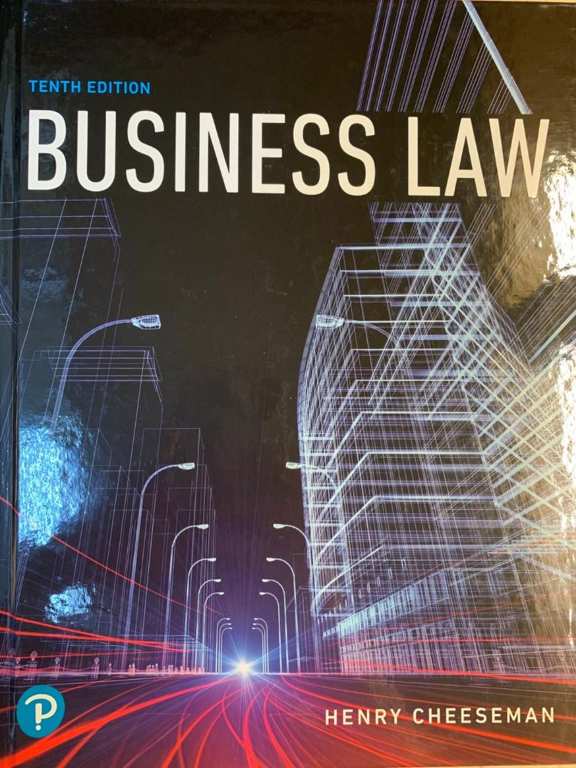 Business Law - Henry Cheeseman (Tenth Edition)