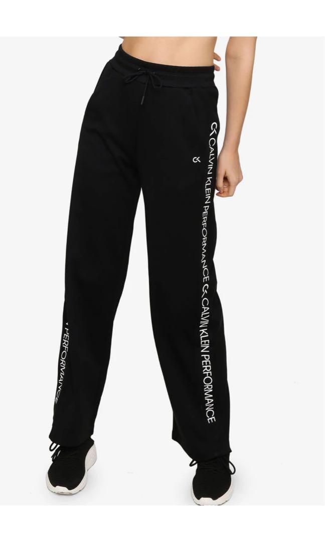 Calvin klein logo tape knit pants