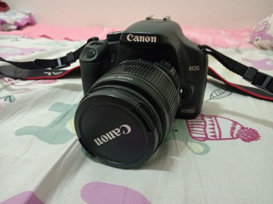 Canon 450D 18-55kit鏡