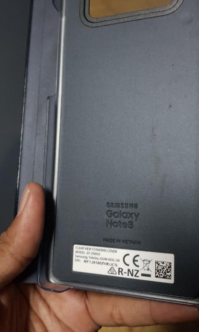 Cover SmartView Samsung Note 8