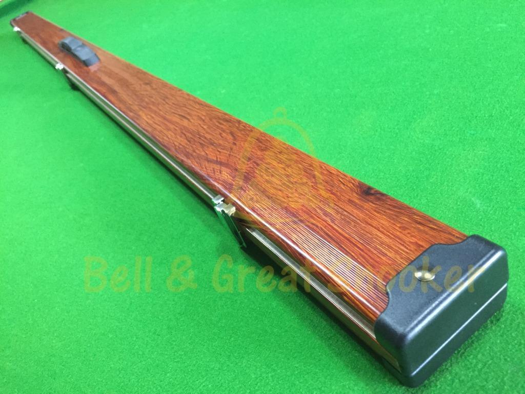 Deluxe Wooden Single piece Aluminium Cue Cases