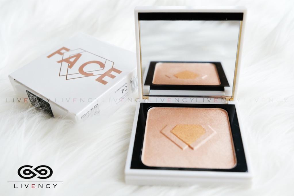 #oktoberovo Diamond blush on highlighter