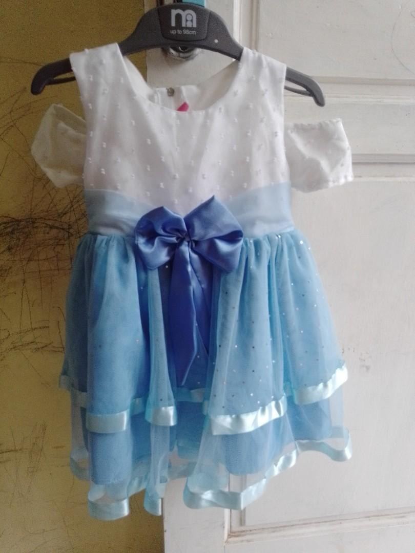 Dress pesta ulang tahun anak 2th