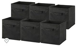 15 pcs - Foldable Cloth Storage Cube Basket Bins - 15 pcs