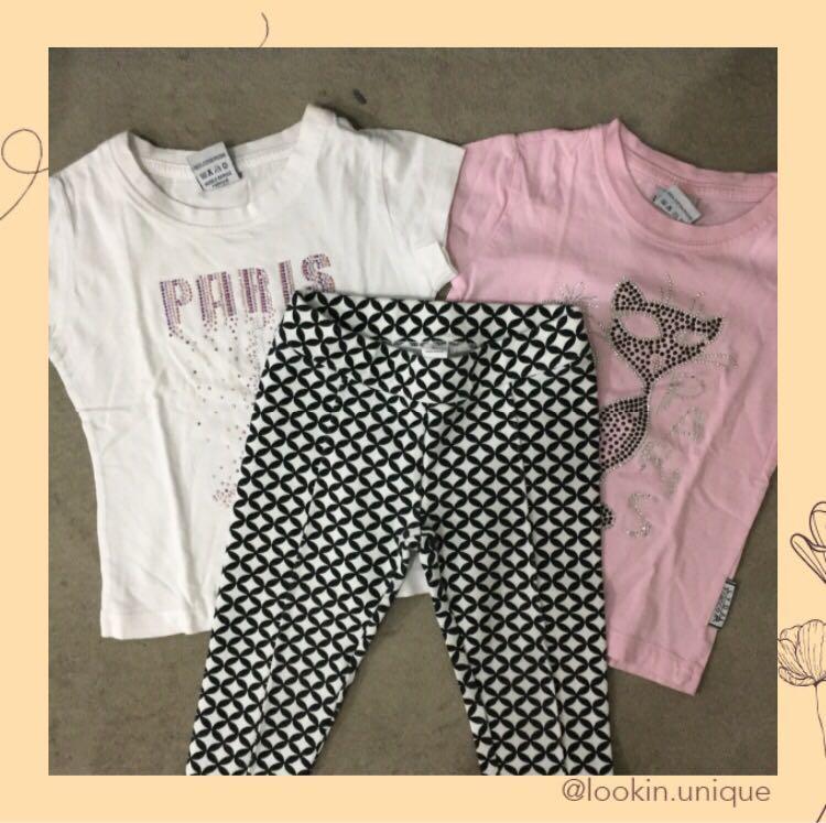 Get 3 Girls T-Shirts + Pant