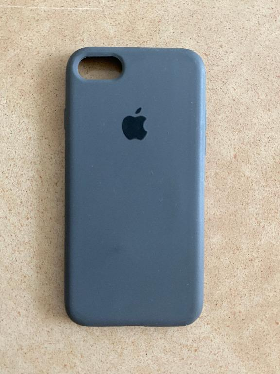 Grey Case With Apple Icon for Iphone 7