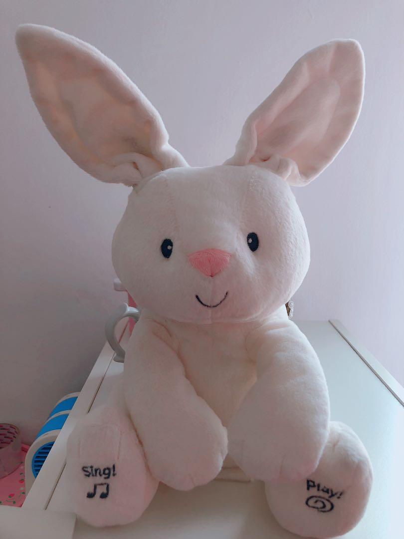 Gund peek a boo rabbit