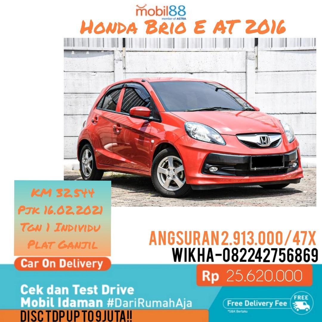 Honda Brio E Satya AT 2016 #Mobil88Buaran
