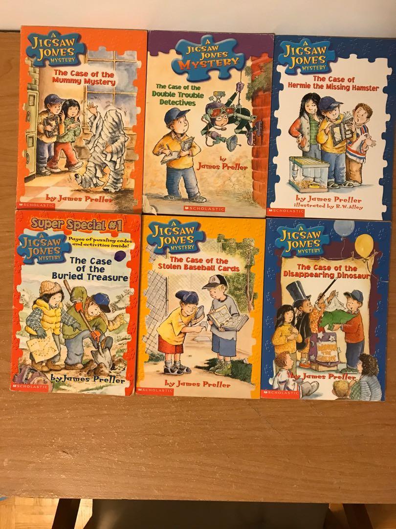 Jigsaw Jones Books