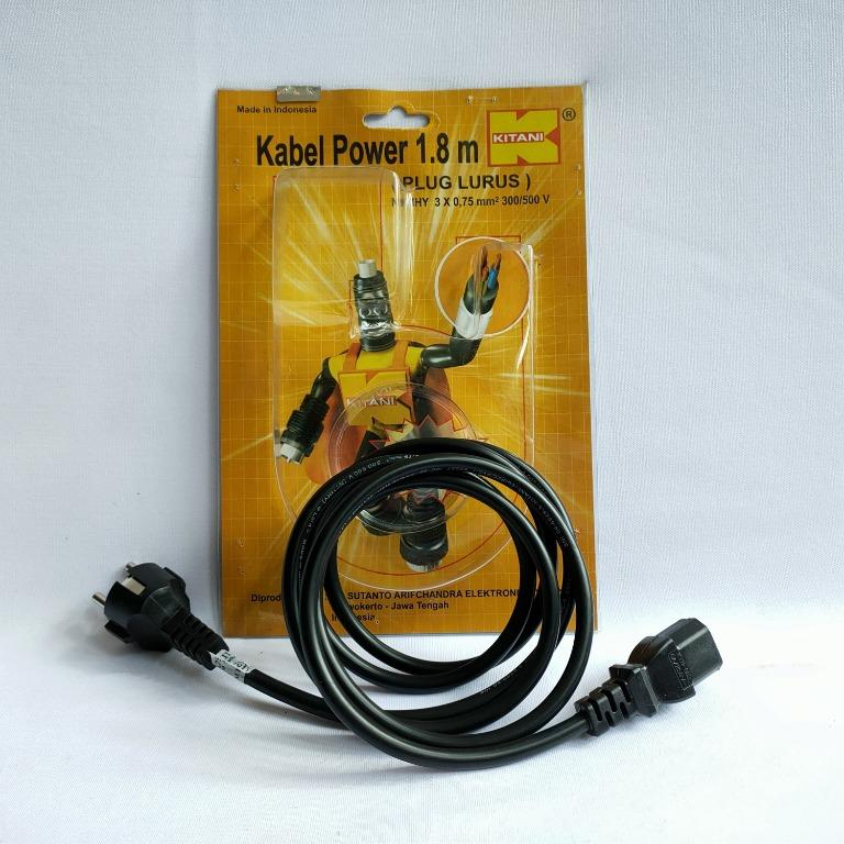 Kabel komputer Kabel Power 1.8M