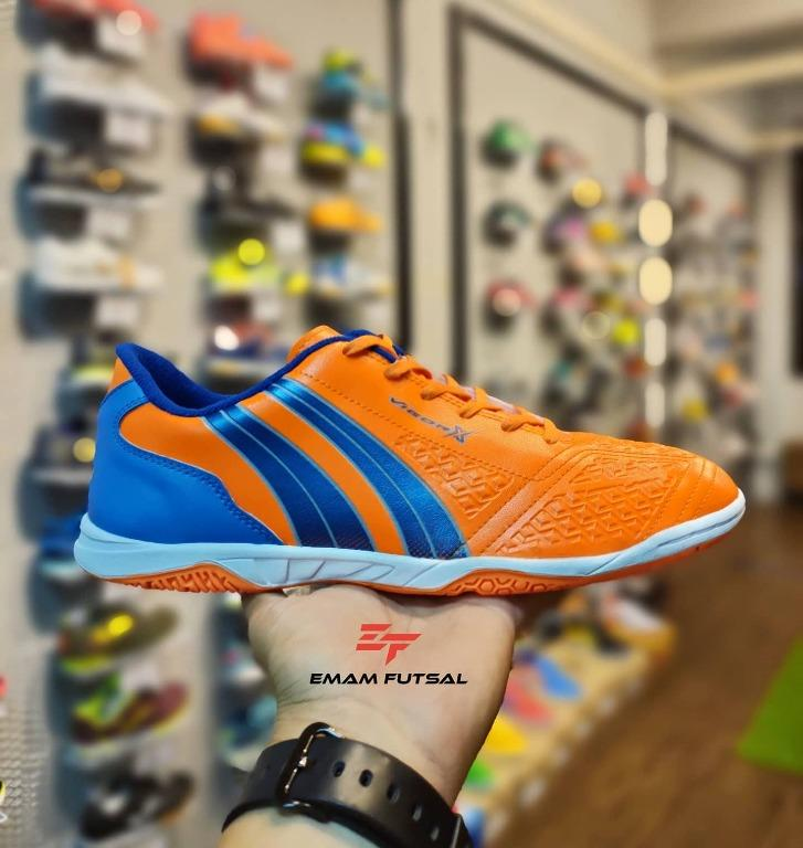 KASUT FUTSAL PAN VIGOR X 2020 ORANGE