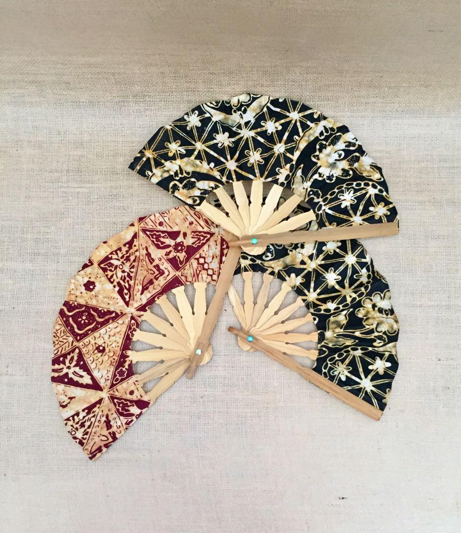 👑Kipas batik cantik 🌻 #oktoberovo