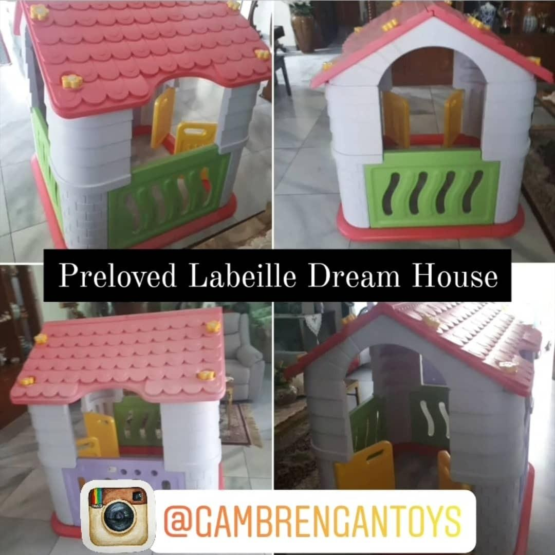Labeille Dream House  Playhouse only Preloved Second Bekas