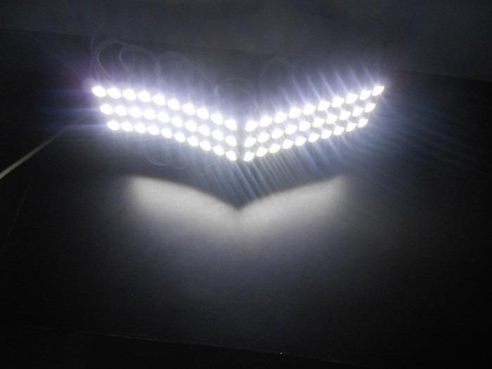 LED Modul 3 Mata 2835 12V 1W Pure White