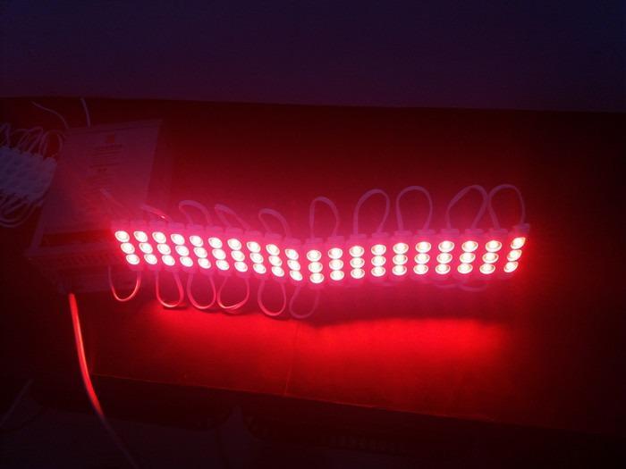 LED modul 3 mata 5730 12V 1,2W merah - eseLED