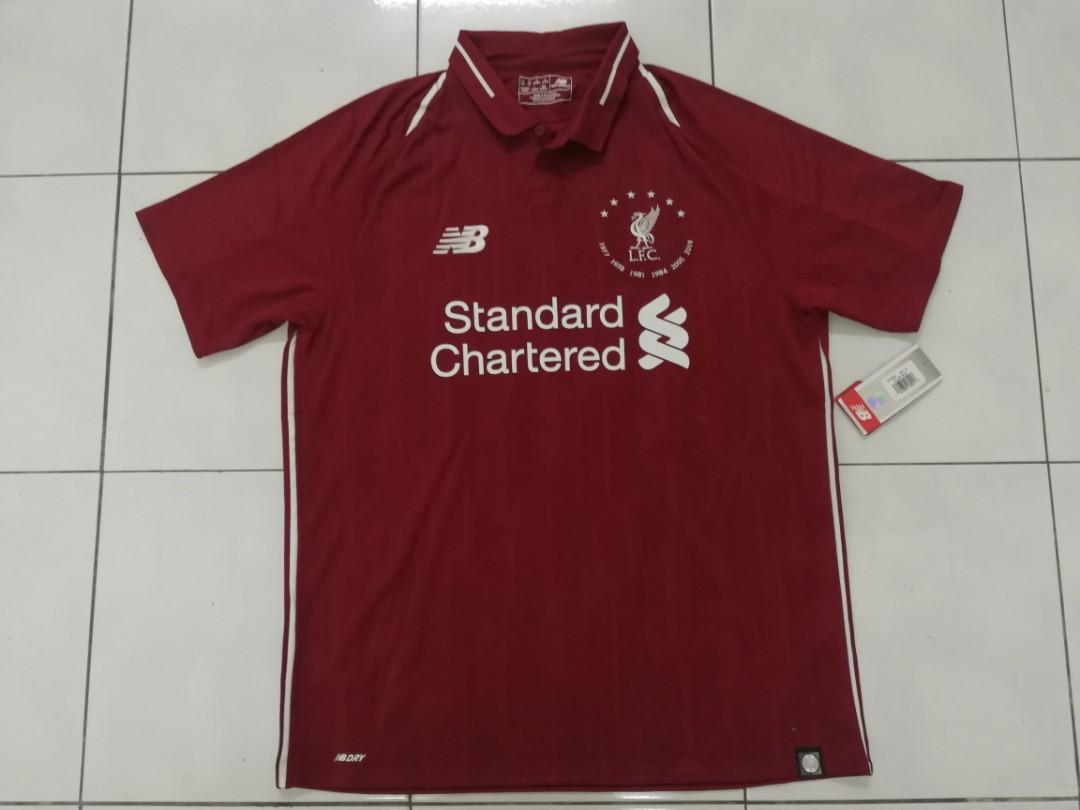 Liverpool 6 times European winner jersey