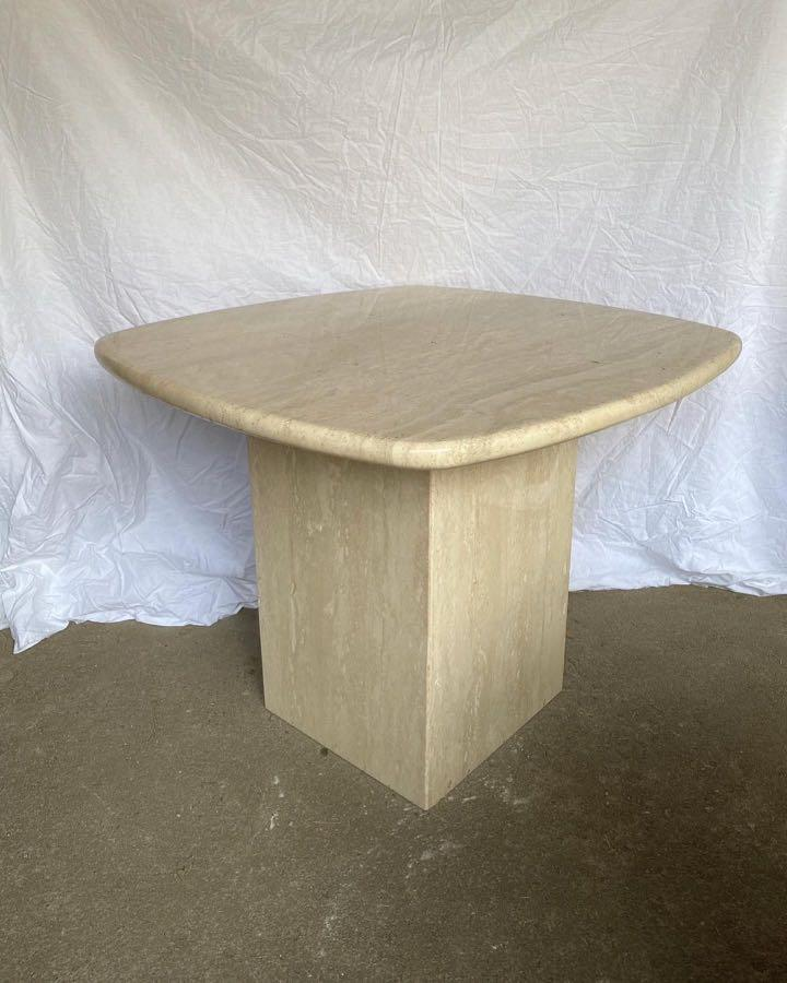 Marble creame coffee table