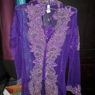 #Mauovo new kebaya ungu