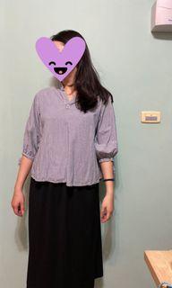 mobo氣質七分襯衫