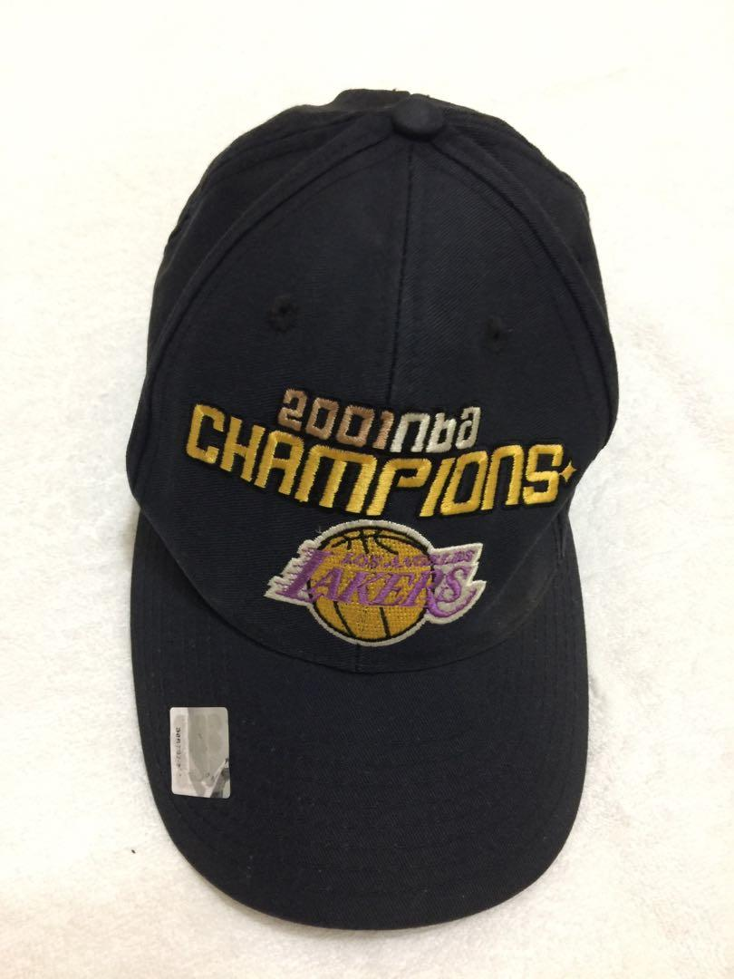 NBA 2001 Champions  Los Angeles LAKERS hat