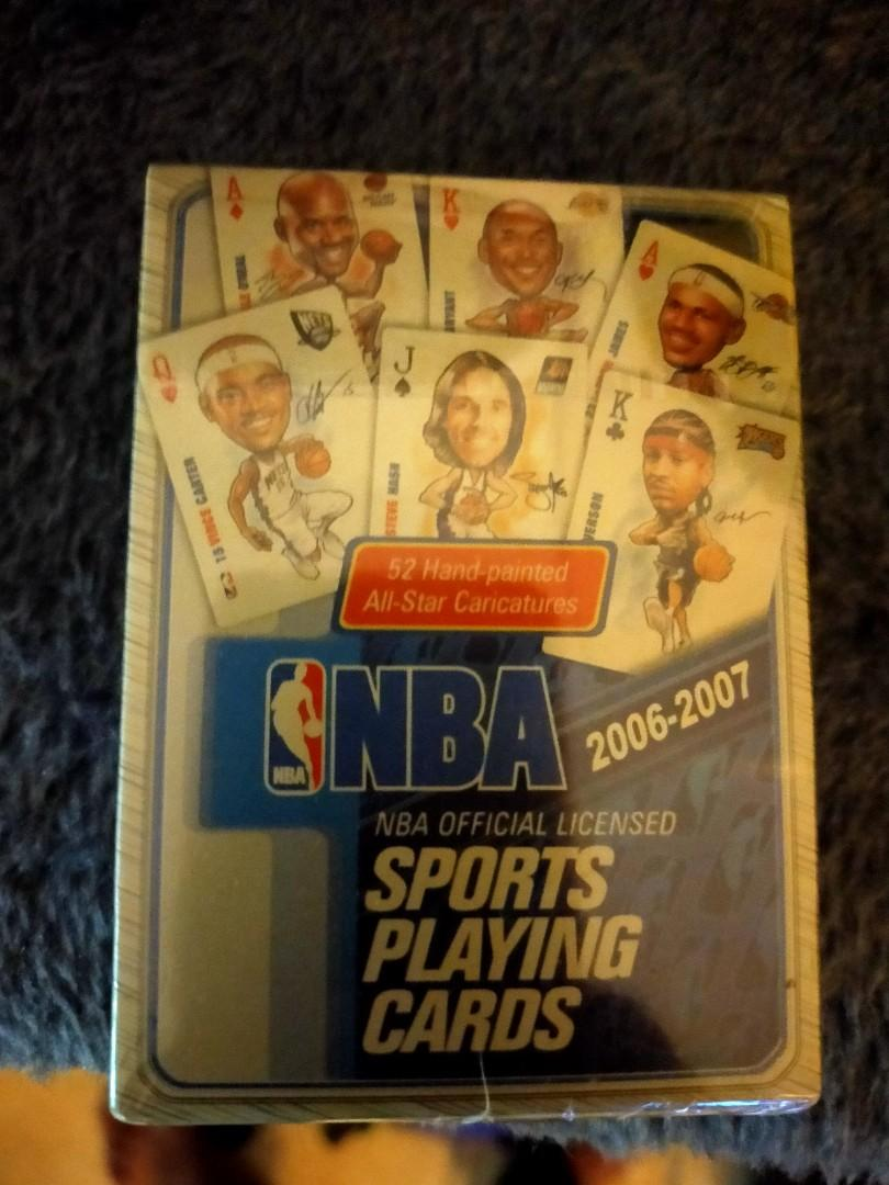 Nba sports playing cards