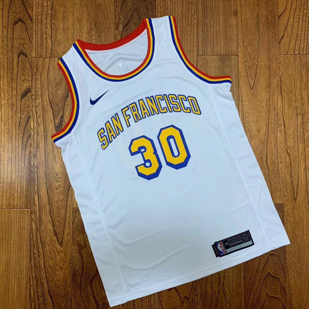 NBA STEPHEN CURRY WHITE EDITION JERSEY